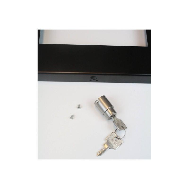Tablet pushlock RVS slot 3 voor standaarden