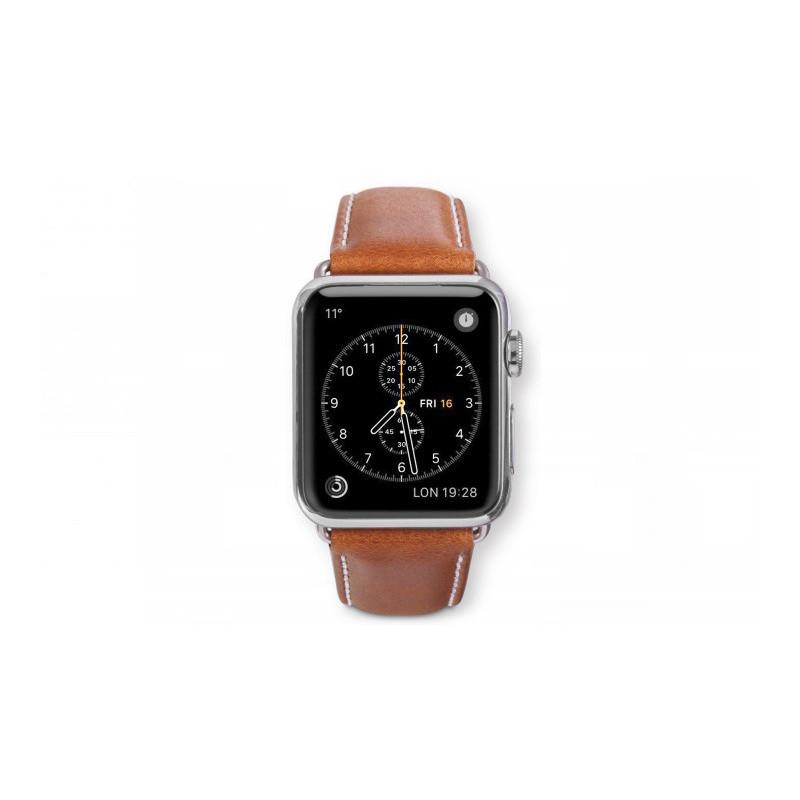 dbramante1928 Copenhagen Apple Watch bandje 38 / 40 mm grijs / bruin