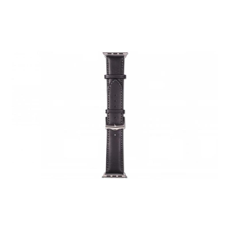 dbramante1928 Copenhagen Apple Watch bandje 38 / 40 mm zilver / zwart