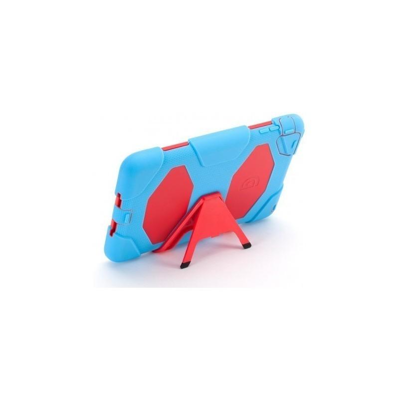 Griffin Survivor All-Terrain hardcase iPad Mini 1/2/3 blauw-rood