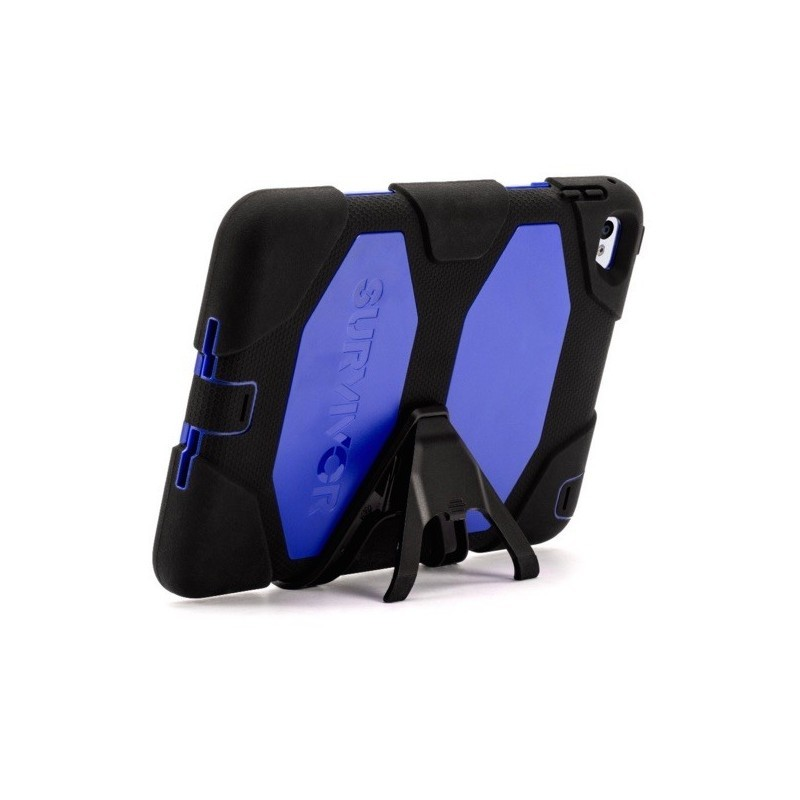 Griffin Survivor All-Terrain hardcase iPad Mini 4 blauw/zwart