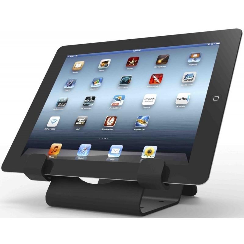 Maclocks tablet beveiligingsstand met 1,8 meter kabel zwart