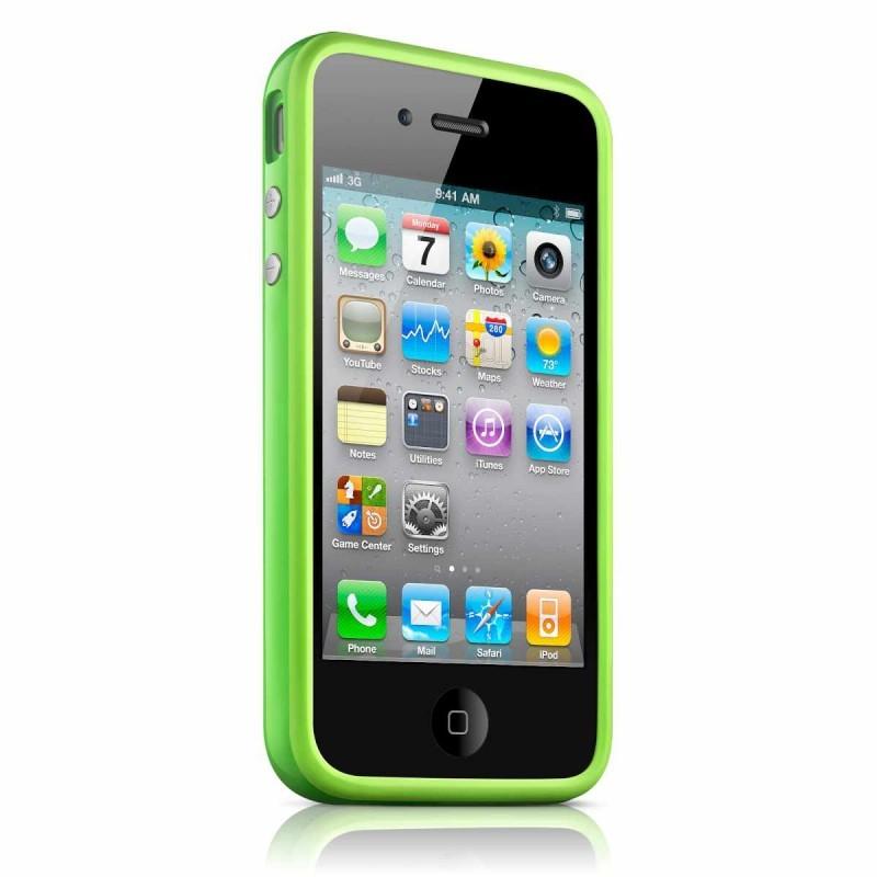 iPhone 4(S) Bumper groen