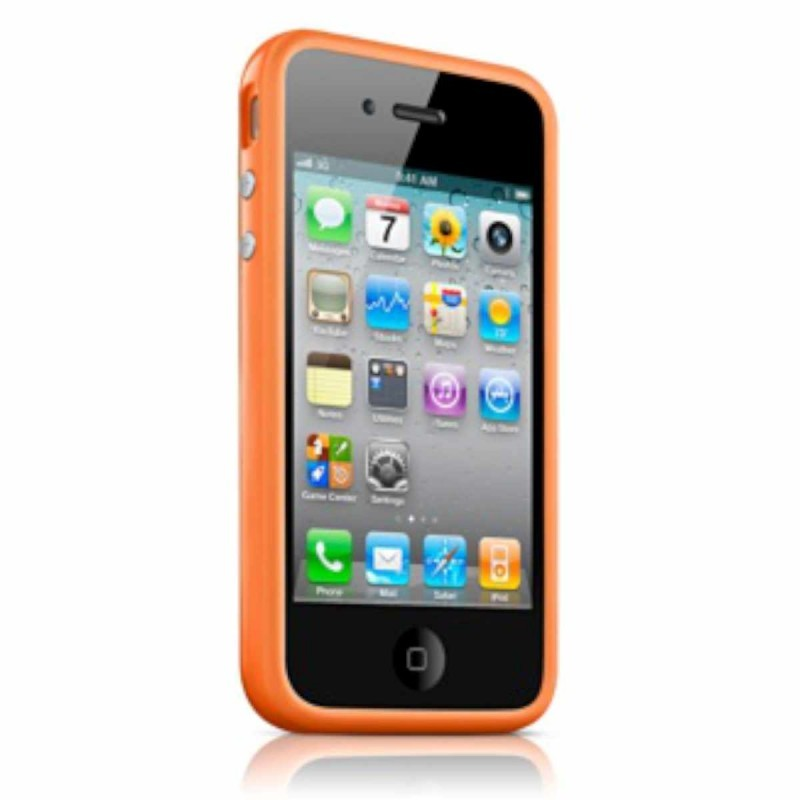 iPhone 4(S) Bumper oranje