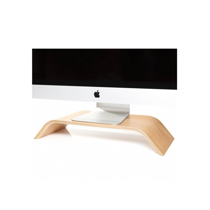 Woodcessories ecolift iMac stand bamboo