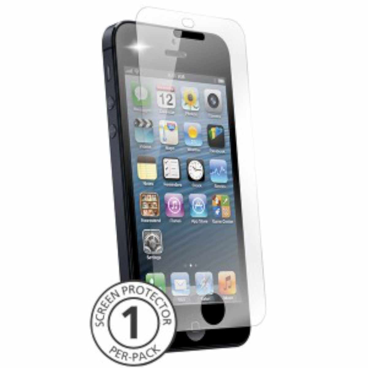 BodyGuardz Glass screenprotector iPhone 5(S)/C/SE