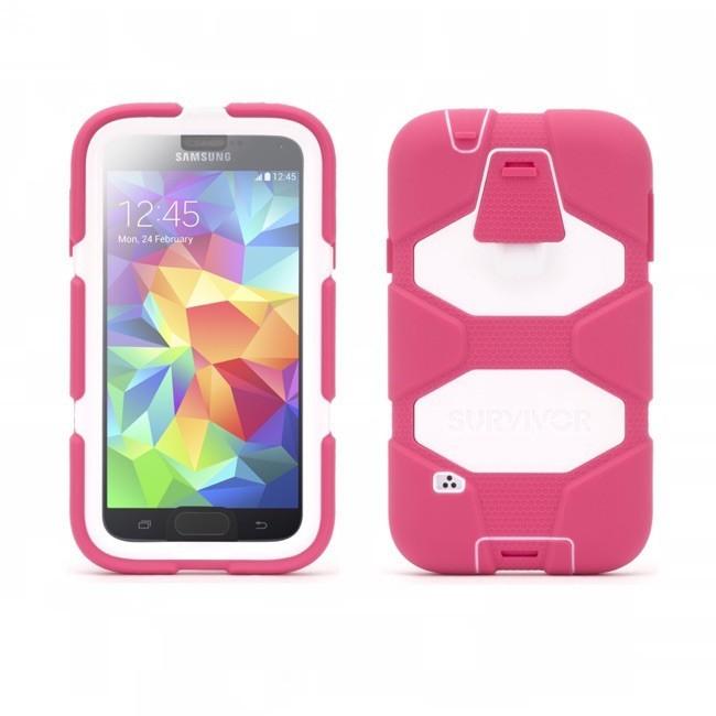 Griffin Survivor All-Terrain hardcase Galaxy S5 roze