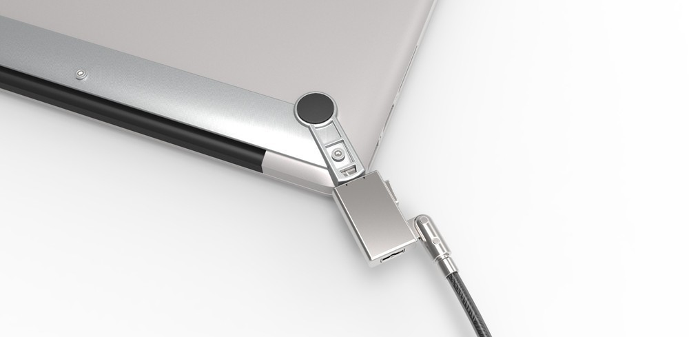 Maclocks MacBook security bracket met Wedge lock grijs