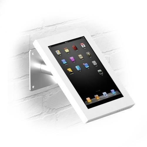 Muur- en tafelstandaard Securo iPad Mini wit