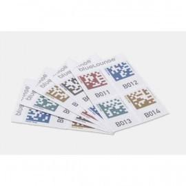Bluelounge Quick Peek opslag labels - 100 stickers