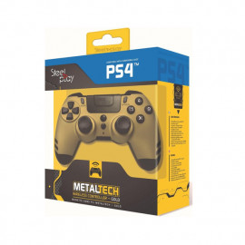 Steelplay MetalTech Wireless Controller goud