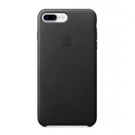Apple leather case iPhone 7 / 8 Plus black