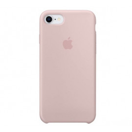 Apple silicone case iPhone 7 / 8 / SE 2020 pink sand