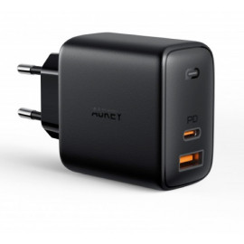 Aukey 2 Port Power Delivery Charger 65W (USB A + USB C)
