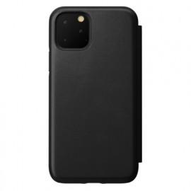 Nomad Rugged Folio Leather Case iPhone 11 Pro zwart