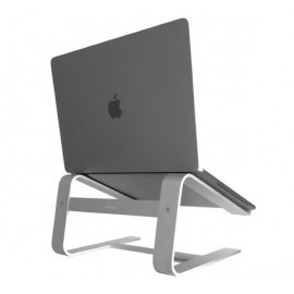 Macally Aluminium Macbook/Laptop Stand zilver