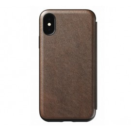 Nomad Rugged Case Tri-Folio iPhone XS Max bruin