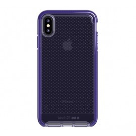Tech21 Evo Check iPhone XS Max transparant / paars