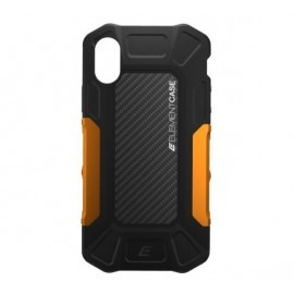 Element Case Formula case iPhone X / XS zwart / oranje
