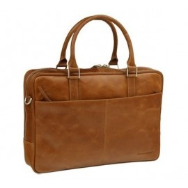 "dbramante1928 leather business bag 16"" Rosenborg brown"