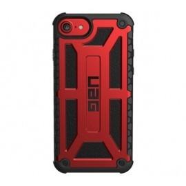 UAG Hardcase Monarch iPhone 6(S) / 7 / 8 / SE 2020 rood zwart