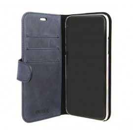 Valenta Booklet Classic iPhone X / XS Luxe Vintage Blue