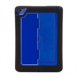 Griffin Survivor Slim case iPad Air 1 blauw/zwart