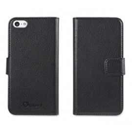Muvit Slim Folio Case iPhone 5(S)/SE zwart