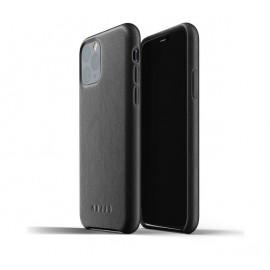 Mujjo Leather Case iPhone 11 Pro zwart