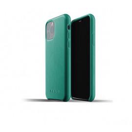 Mujjo Leather Case iPhone 11 Pro groen