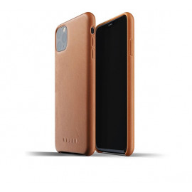 Mujjo Leather Case iPhone 11 Pro Max bruin