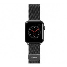 LAUT Steel Loop Apple Watch 38 / 40 mm zwart