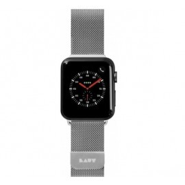 LAUT Steel Loop Apple Watch 38 / 40 mm zilver