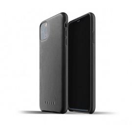 Mujjo Leather Case iPhone 11 Pro Max zwart