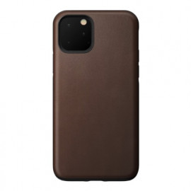 Nomad Rugged Leather Case iPhone 11 Pro bruin