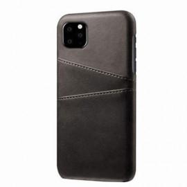 Casecentive Leren Wallet back case iPhone 11 Pro Max zwart