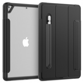 Casecentive Rugged Smart Cover Case iPad 10.2 2019 / 2020 zwart