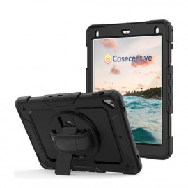 Casecentive Handstrap Pro Hardcase met handvat iPad Mini 4 / 5 zwart