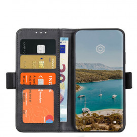 Casecentive Magnetische Leren Wallet case iPhone 12 Pro Max zwart