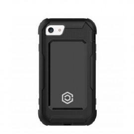 Casecentive Ultimate Hardcase iPhone 6(S) / 7 / 8 / SE 2020 zwart