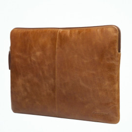 dbramante1928 Rungsted Sleeve MacBook Pro 15 inch (2016-2019) donkerbruin