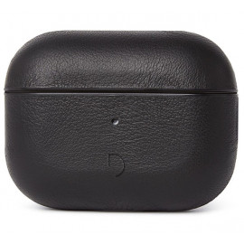 Decoded Airpod Pro Leather Case zwart