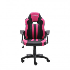Gear4U Junior Hero gaming chair roze / zwart