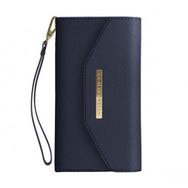 iDeal of Sweden Mayfair Clutch Wallet case iPhone 11 blauw