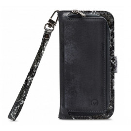 Mobilize 2in1 Gelly Wallet Zipper Case iPhone 11 zwart / snake