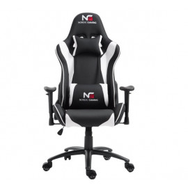Nordic Gaming Racer gaming chair wit / zwart