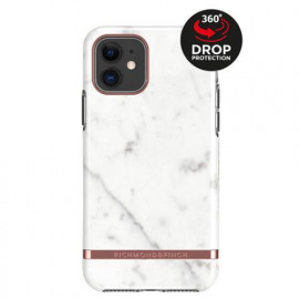 Richmond & Finch Freedom Series Apple iPhone 11 wit marble/ rose goud