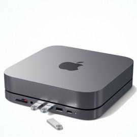 Satechi Aluminum Stand Hub Mac Mini grijs
