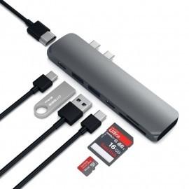 Satechi USB-C hub Pro 4K HDMI Space Grey