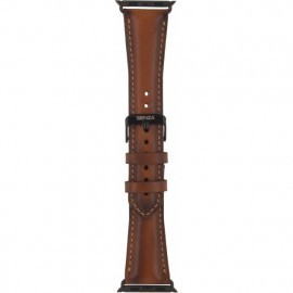 Senza Desire Leather Strap Apple Watch 42 / 44 mm cognac